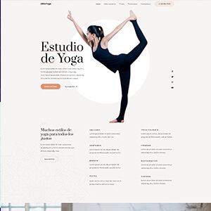 Estudio de yoga